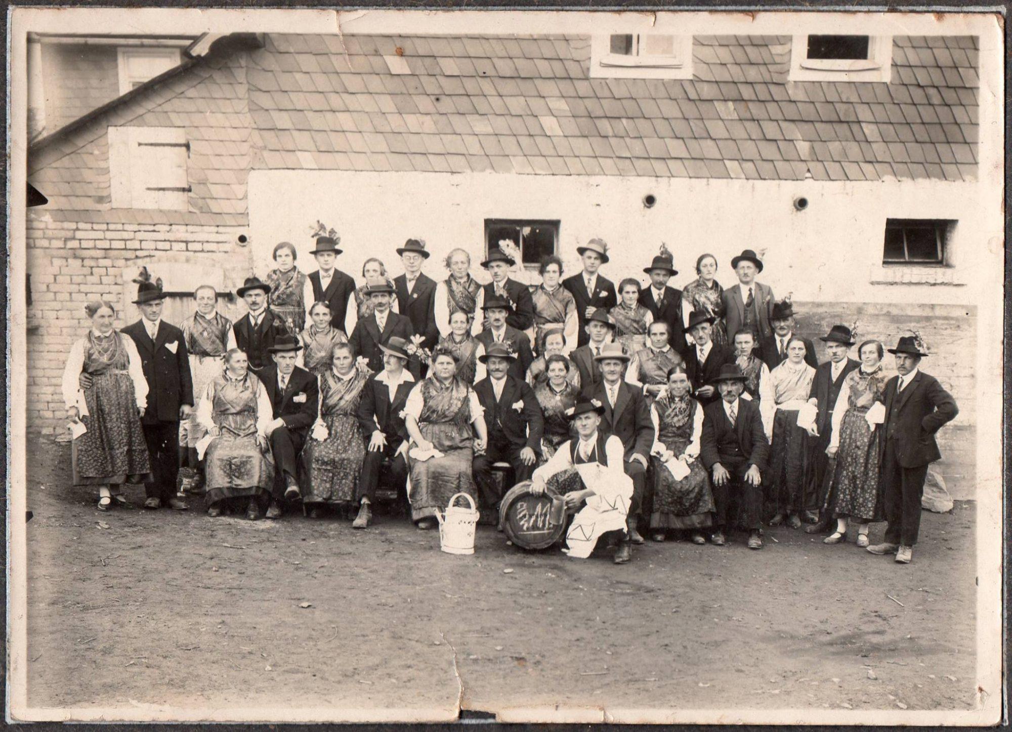 Kirchweih Kehlbach 1930